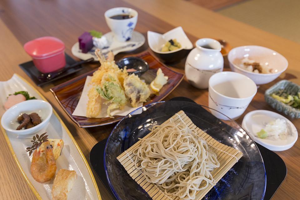 常次郎庵-料理2
